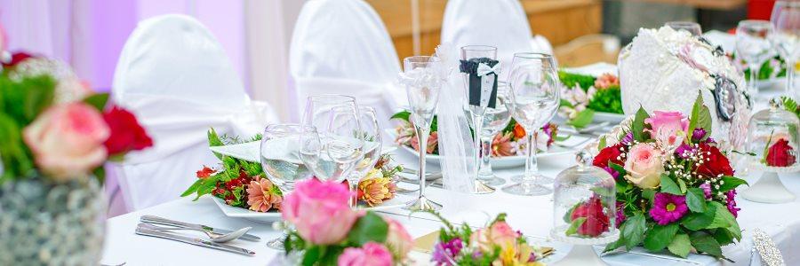 Salle de réception de mariage