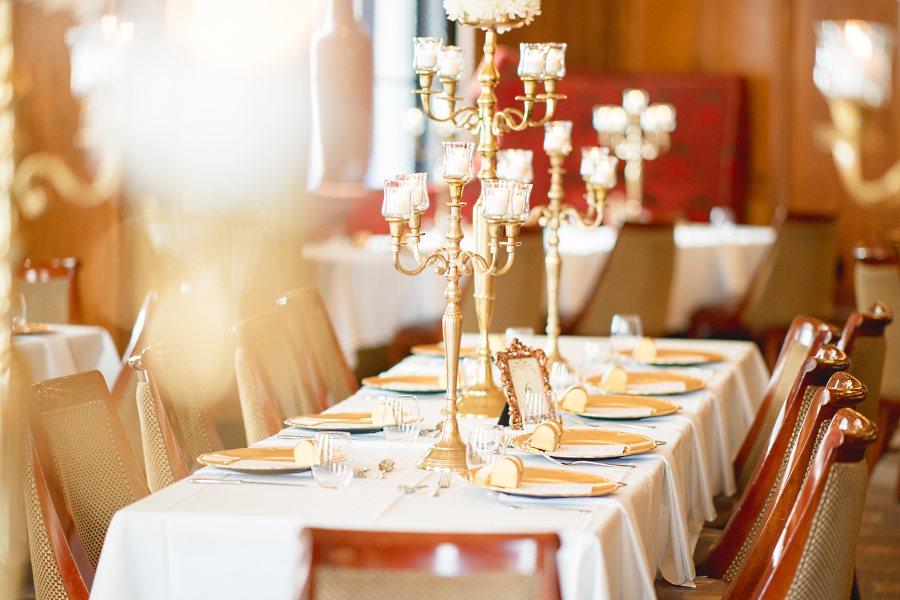 Restaurant pour réception de mariage