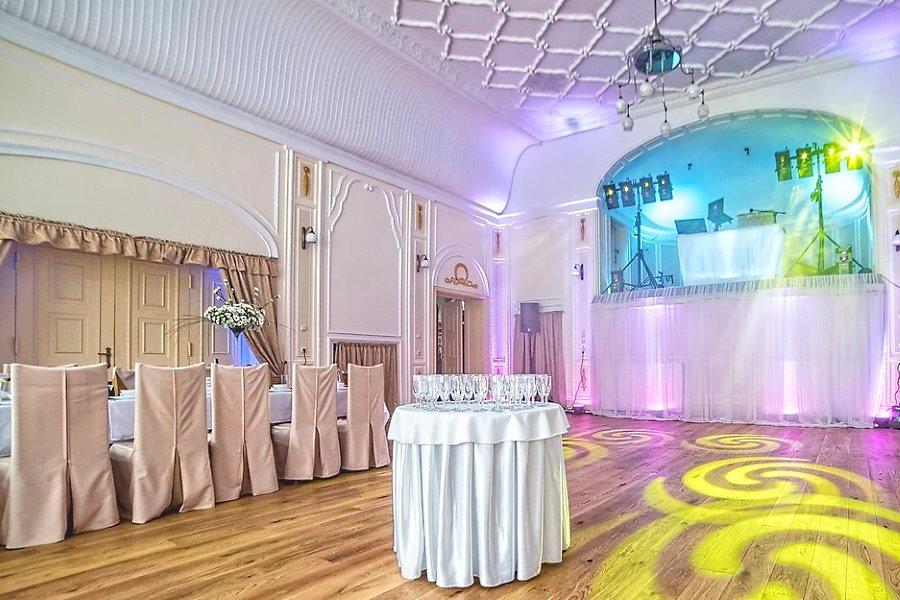 Salle des fêtes pour réception de mariage