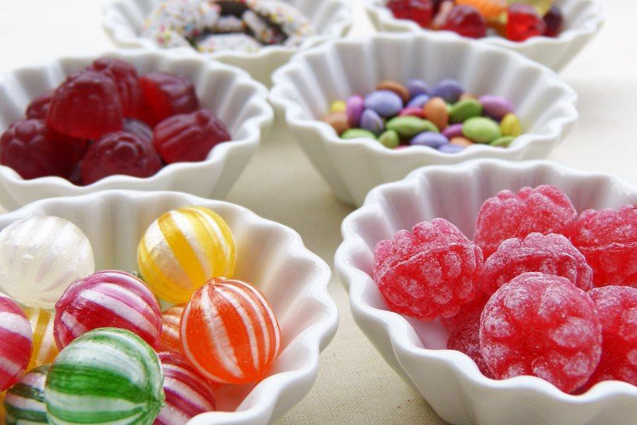Bonbons pour le jeu du sucre