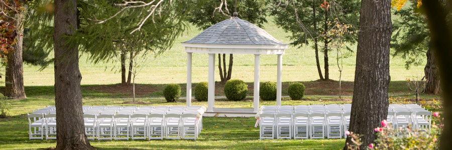 Tonnelle pour cérémonie de mariage