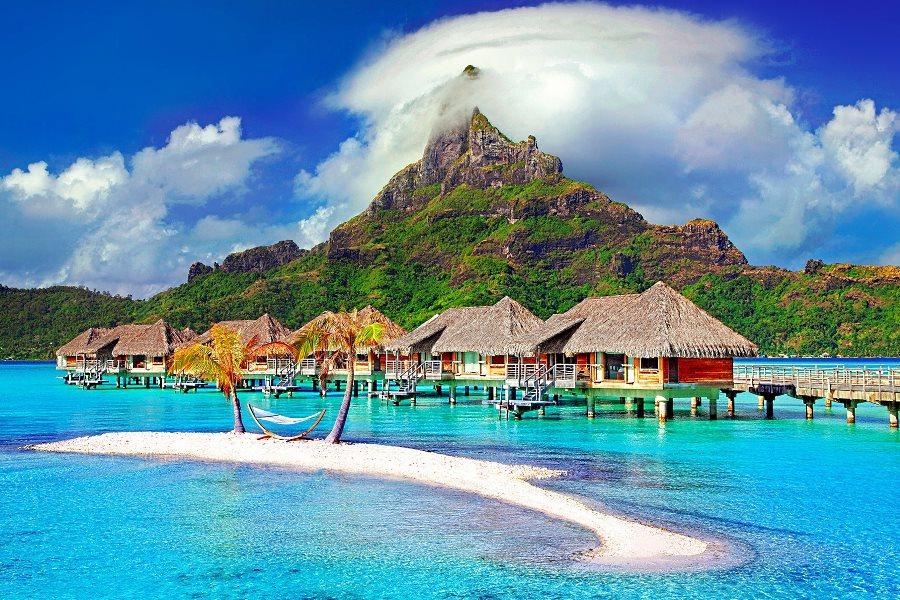 Voyage de noce à Bora Bora