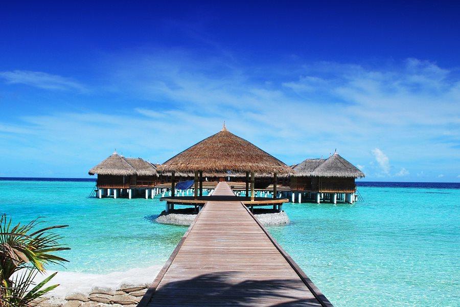 Voyage de noce aux Maldives